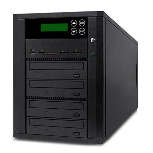 3 Target Sony Dvd Duplicator (Acumen Disc DV-904-SSP Flash Memory Drive to Media Disc Duplicator with 1-4 Target DVD/CD Burners (with MS, CF, SD, MMC, USB Slots))