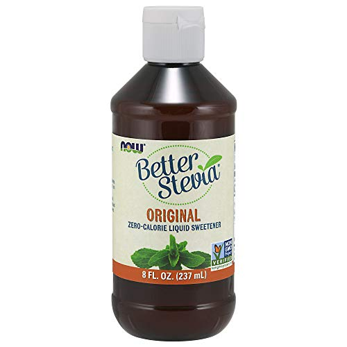 Kosher Vegan Vanilla Extract - NOW Foods BetterStevia Liquid,8-Ounce