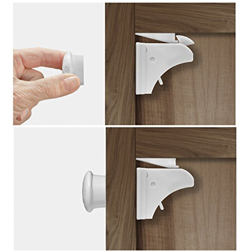 Child Proof Cabinet Locks With New Install Tool Magnetic