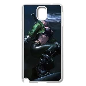 Samsung Galaxy Note 3 Cell Phone Case White League of Legends Mercenary Katarina KP2949427