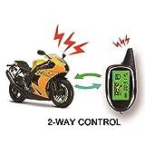 BANVIE 2 Way Anti-Theft Motorcycle Security Alarm