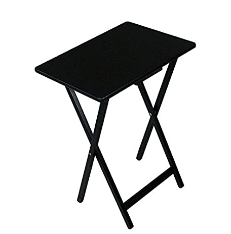 Black Tv Tray Folding Table Patio Dining Table Folding Small Wooden Folding  Table Compact Patio Dining