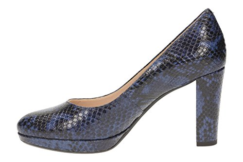 Clarks Kendra Sienna, Zapatos de Tacón para Mujer Azul Marino