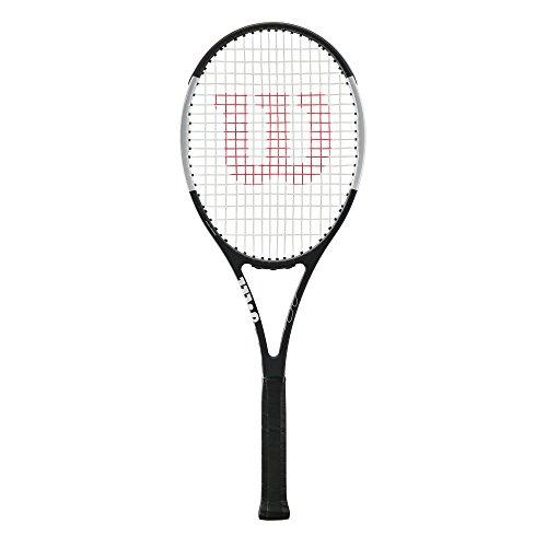 Wilson Pro Staff Roger Federer 97 Autograph Tuxedo Tennis Racquet (4 5/8″ Grip)