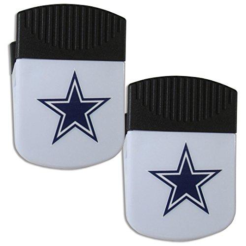 Dallas Cowboys Magnets (Siskiyou NFL Dallas Cowboys Chip Clip Magnet with Bottle Opener, 2 Pack)