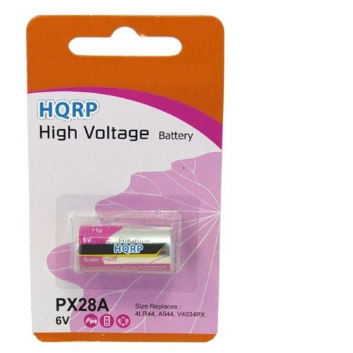 HQRP 6-Volt Battery for Innotek BC-50B BC-50B-22 BC-50 BC-50E Bark Control Receiver Dog Collar + Coaster