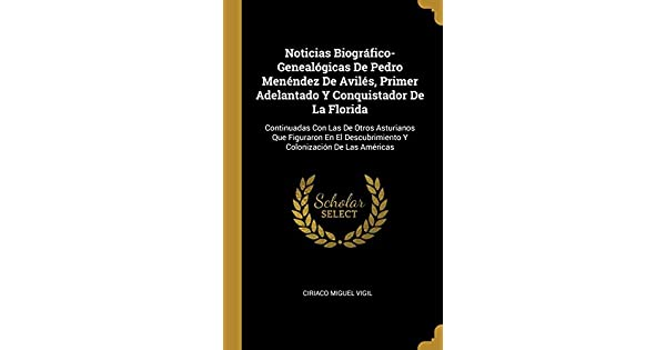 Amazon.com: Noticias Biográfico-Genealógicas De Pedro ...