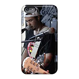 Shock Absorbent Hard Cell-phone Case For Iphone 6 (IvG12771PNKk) Customized Fashion Red Hot Chili Peppers Image