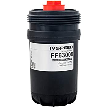 A-Ivan FF63009 Fuel Filter for Cummins Engines Replaces Cummins 5303743,FF63008 Element for FH22168