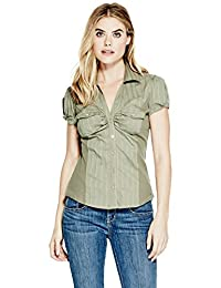 GUESS Factory Women's Naya Button-Down Shirt