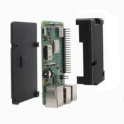 Raspberry Pi 3 B+ Aluminum Armor Case with Housing Heat Dissipation, Metal Case/Enclosure with Heatsink Pillar for Raspberry Pi 3 Model B Plus / 3B by Geekworm (Image #3)