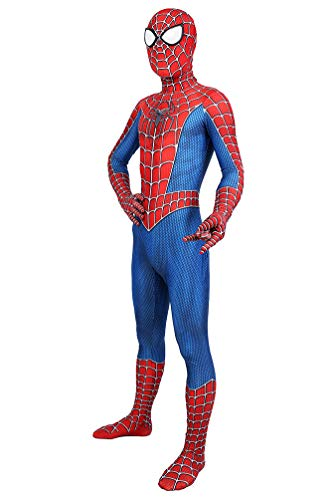 Cuckoo Halloween Cosplay Adult Full Jumpsuit Bodysuit Costume Superhero Spandex Onesie,S]()