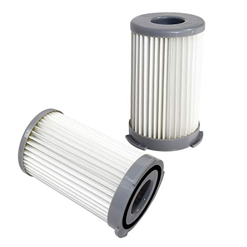 HQRP 2-Pack Dust Cup Filter for Eureka 940A 940A-1 940A1 Pet Lover Canister Vacuum Cleaners, DCF-23 / DCF23 / 68947 Replacement + HQRP Coaster