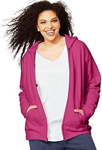 JMS ComfortSoft EcoSmart Fleece Full-Zip Women's Hoodie