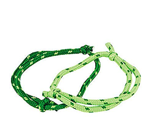 St Patricks Day Rope Bracelets Bulk Party Favors (144 Pack) With1 Shamrock Pin