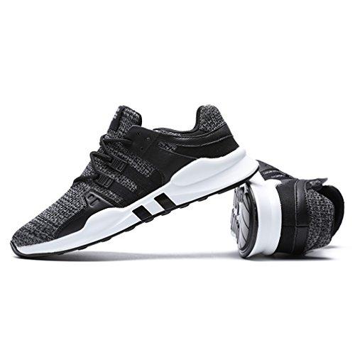 Tennis Fitness Uomo Ginnastica Sneaker Sport all'Aperto Outdoor Casual Running Grigio ZIITOP Scarpe Sportive Scarpe da Casual Interior da Corsa Bdwqvfq6