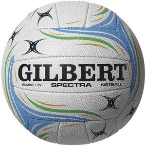 Gilbert Official Spectra Netball Rubber Surface Duragrip Match /& Training Balls