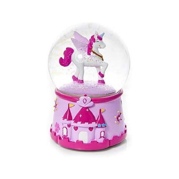MAGICAL Unicorn–Bola de nieve musical para las niñas