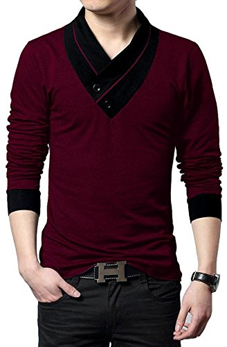 3bc09170552d EYEBOGLER Men s Cotton T-Shirt (Pack Of 1) (Un1Wm)  Amazon.in ...