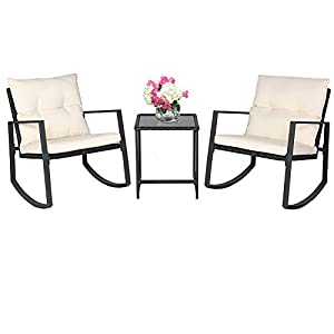 41UmZmTKRBL._SS300_ 100+ Black Wicker Patio Furniture Sets For 2020