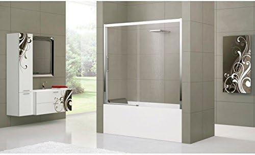 Mampara de bañera Novellini Rose Rosse 2PV: Amazon.es: Bricolaje y herramientas
