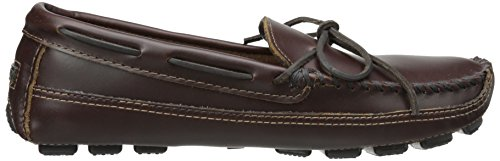 Mocassins Driving Homme Moc Bottom Marron Cowhide Minnetonka brown Double wqFtXT