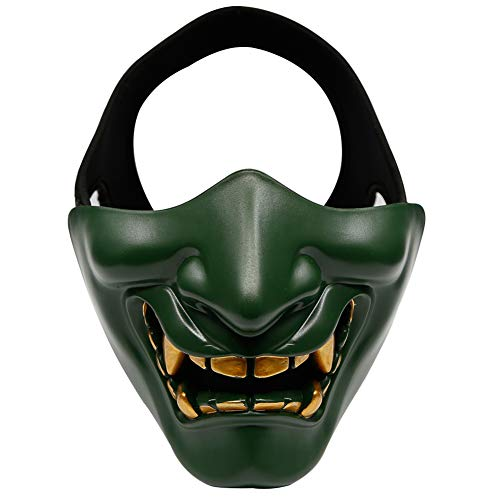 Aoile Unisex Evil Smile Tactical TPU Half Face Mask for sale  Delivered anywhere in Canada
