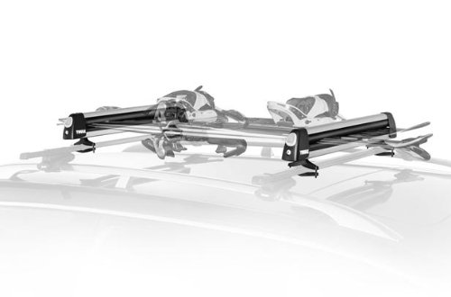Fiat 500 Thule Roofmount Ski and Snowboard Rack by Thule