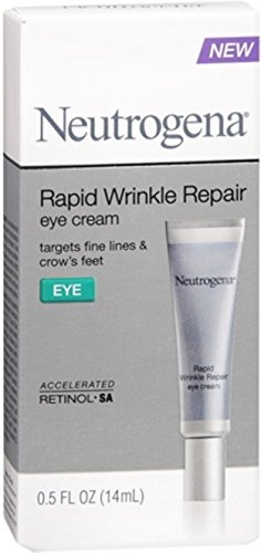 Neutrogena Rapid Wrinkle Repair Eye Cream 0.50 oz (5 Pack)