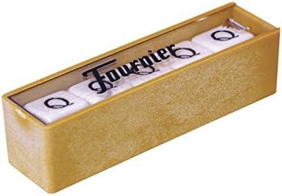 Fournier- Dados Poker Caja (F28984): Amazon.es: Juguetes y juegos