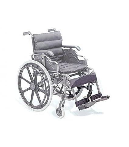 Repuesto - par de reposapiés para silla de ruedas cod. 27717: Amazon ...