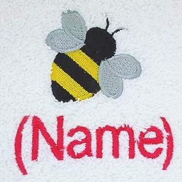 Toalla para la cara, toalla de mano, toalla de baño, baño (o) personalizado con Bee Logo ...
