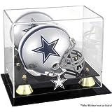 NFL Classic Logo Mini Helmet Display Case NFL Team: Dallas Cowboys