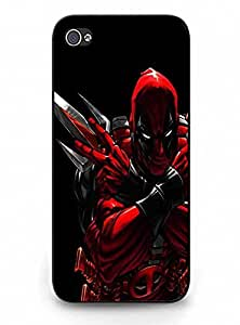 Coolest Deadpool Durable Hard Back Case for iPhone 5 5s