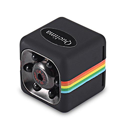 Quelima SQ11 Mini Camera 1080P HD Camcorder with Night (Gum Spy Camcorder)