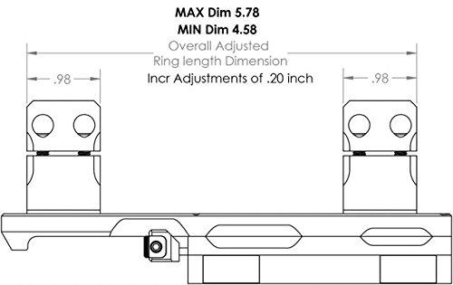 KDG Sidelok Cntlvr Scope Rng 34Mm Stock Accessories by KDG (Image #6)