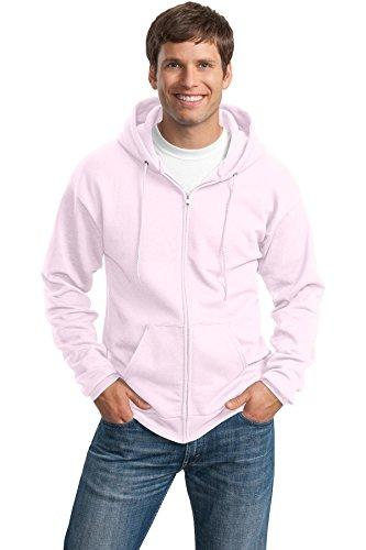 Pink Zip Hoodie Sweatshirt - 7