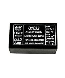 Oseas Led Driver SMPS Power Suppliers for LED Strips, (12V 2.5 Amp)