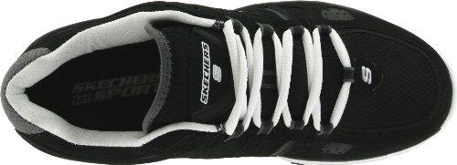 Skechers Sport Dames Bravos-foto Finish Fashion Sneaker Zwart / Wit