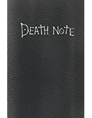 Death Note: Replica with the rules of the death note, and in the end notebook in vintage page