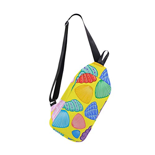 For One Sea Bag Women Shells Crossbody amp; Backpack Men Shoulder Sling Chest Bags Bennigiry vaXAwA