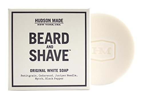 Hudson Made - Beard & Shave Soap (Original White)