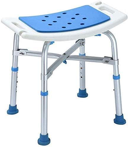 No logo TIN-YAEN Badezimmer Rollstühle, Duschhocker, Duschsitz höhenverstellbar Anti-Rutsch-Fuß Gewicht 200 kg...