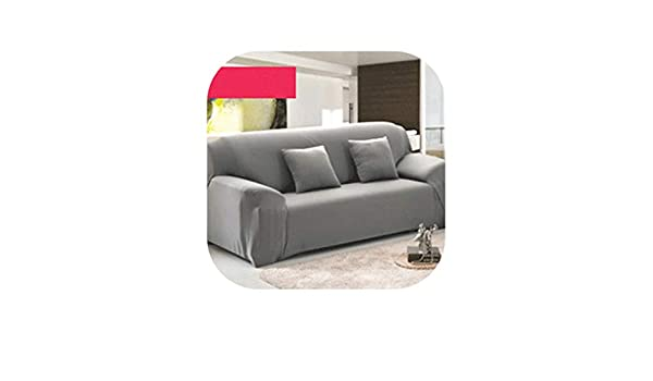 Amazon.com: Pink-star 4/3/2/1 Seat Elastic Spandex Sofa ...