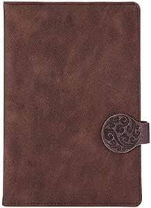 مذكرة جلد للكتابة مع ورق مسطر، ايه 5، 120 ورقة / 240 صفحة مسطرة