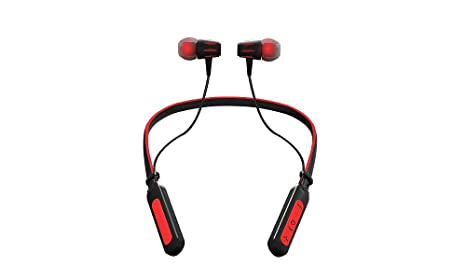 Jarv Wave Sport Wireless Running Workout Bluetooth Neckband Headset with Mic/Volume Control & Siri