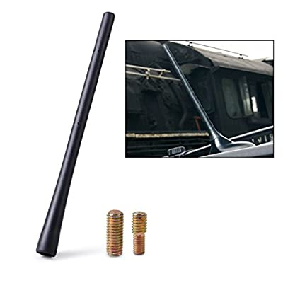 """beler 8"""" Auto Car AM/FM Radio Short Roof Aerial Antenna Mast + Screw for Dodge Journey Avenger Charger Magnum (Fulfilled by hermeshine): Automotive"""