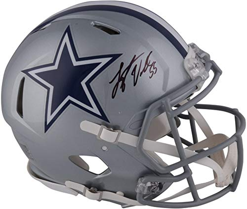 Leighton Vander Esch Dallas Cowboys Autographed Riddell Speed Authentic Pro-Line Helmet - Fanatics Authentic Certified ()
