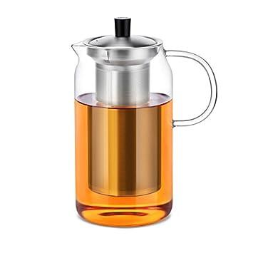 Moderne Teekanne teekanne mit edelstahlsieb 1200 ml teebereiter moderne