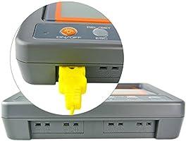 4 canales K Temperatura Tipo de tarjeta SD term/ómetro registrador de datos termopar con zumbador